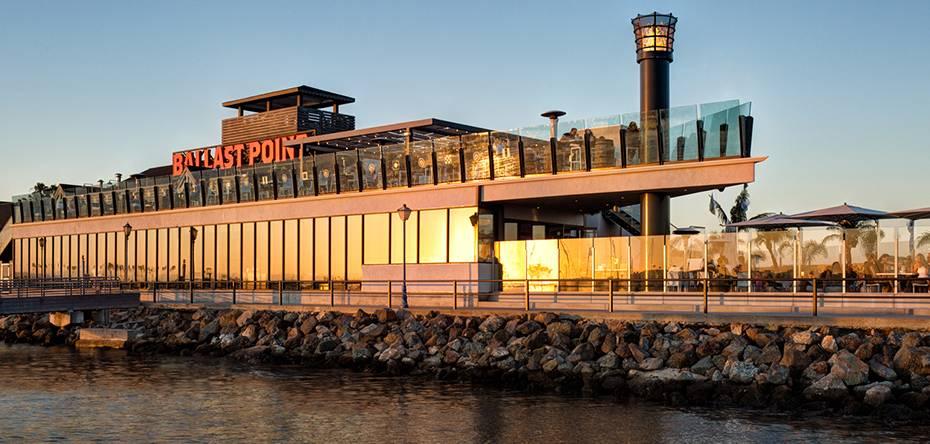 La Jolla Hotels >> Hospitality: Ballast Point Brewery, Long Beach, CA