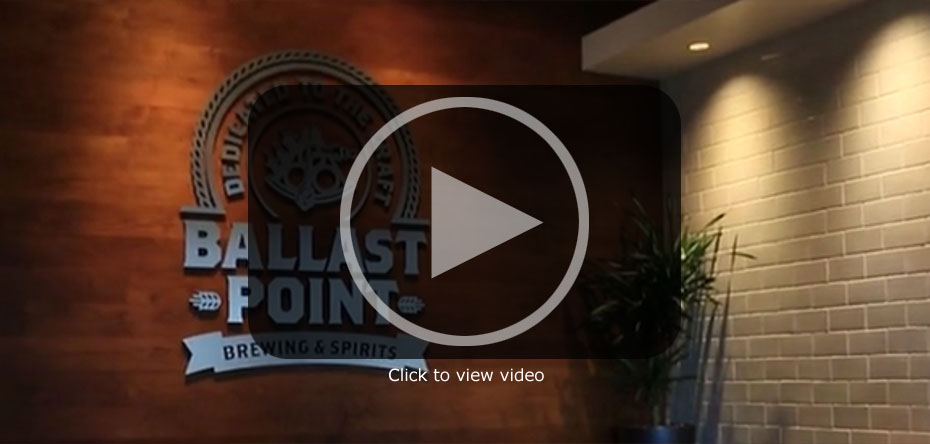 Ballast Point Brewing, Carroll Way - Video