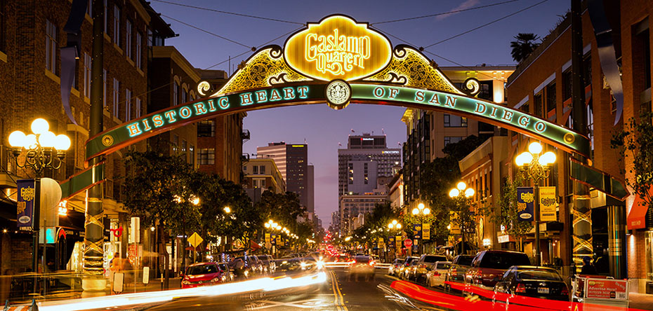 Gaslamp Quarter Archway, San Diego, CA - Photo 1