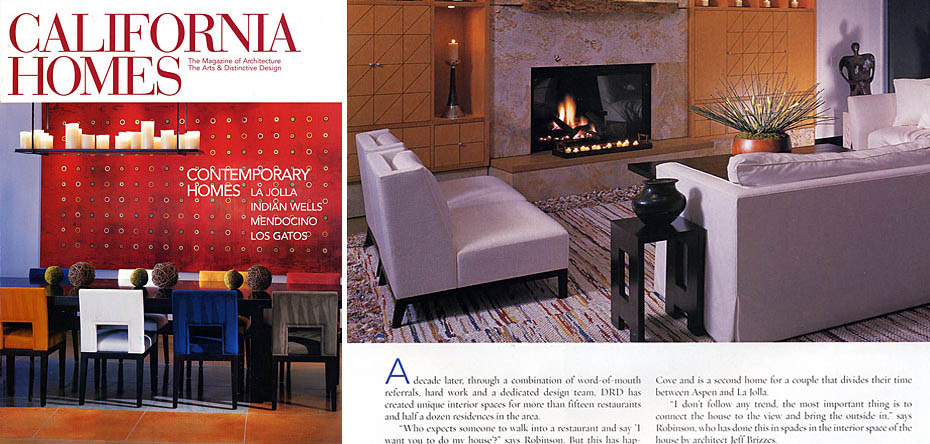 California Homes February 2005 Lawrence Residence - Download the PDF