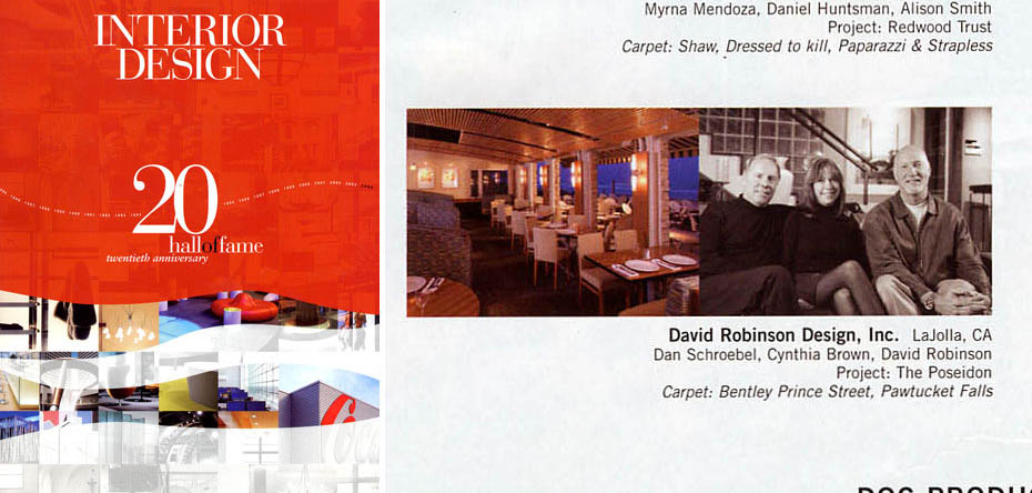 Interior Design Hall of Fame 2004 - Download the PDF