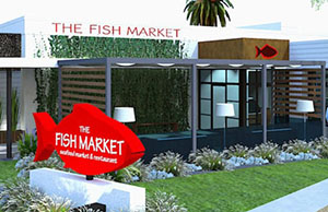 The Fish Market, Del Mar, CA